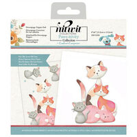 Nitwits Pawsitivity Die Cut Topper Pad: For the Love of Cats