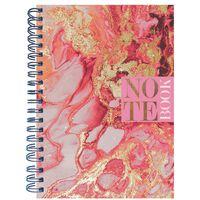 A4 Wiro Pink Quartz Notebook