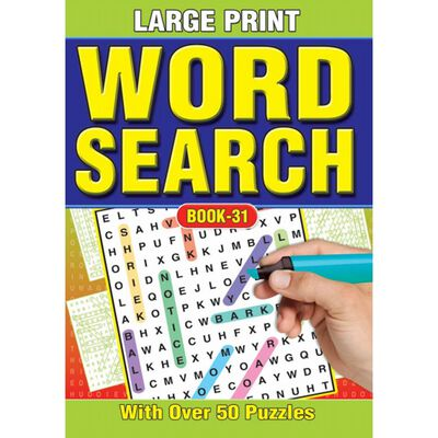 A4 Large Print Wordsearch image number 3