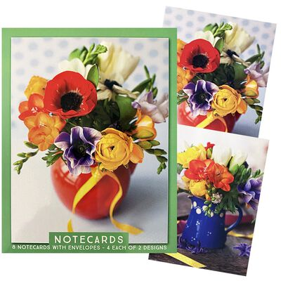 Assorted Traditional Notecards: Pack of 8 image number 1