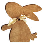 Decorative Wooden Easter Bunny image number 3