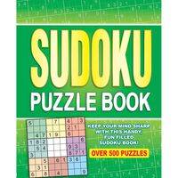 Sudoku Puzzle Book: Over 500 Puzzles