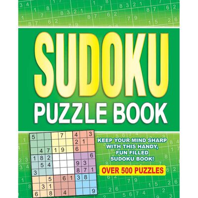 Sudoku Puzzle Book: Over 500 Puzzles image number 1