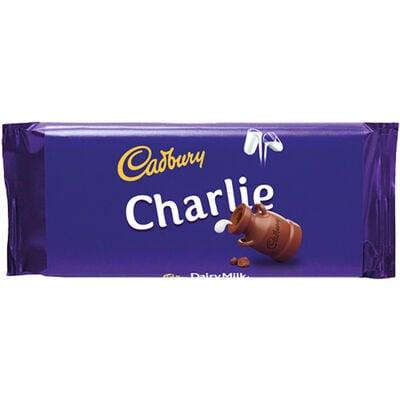 Cadbury Dairy Milk Chocolate Bar 110g - Charlie image number 1