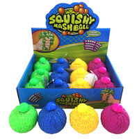 Colour Changing Squishy Mesh Ball: Assorted