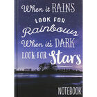 A5 Casebound When It Rains Notebook image number 1