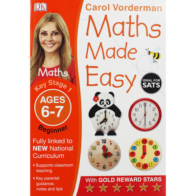 Maths Made Easy Ages 6-7 Key Stage 1 Beginner image number 1