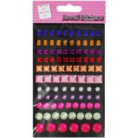 Coloured Jewel Stickers