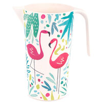 Flamingo Large Bamboo Eco Jug