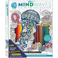 ArtMaker Mind Waves Calming Colouring Kit: Ocean Tranquillity