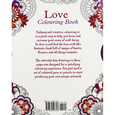 Love Colouring Book image number 3