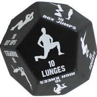 Daily Fitness Challenge Exercise Decision Dice
