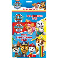 Paw Patrol Colouring Play Pack