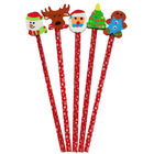 XMA20 5pk Pencil Toppers image number 2