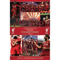 Liverpool FC Winning Season Poster