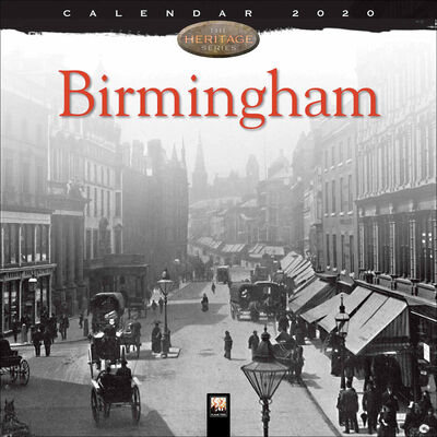 Birmingham Heritage 2020 Wall Calendar image number 1
