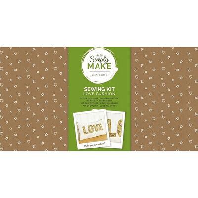 Simply Make - Love Cushion Kit image number 1