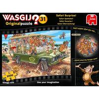 Wasgij Original 31 Safari Surprise 1000 Piece Puzzle