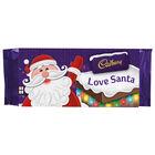 Cadbury Dairy Milk Chocolate Bar 110g - Love Santa image number 1