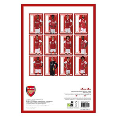 The Official Arsenal 2021 Calendar image number 3