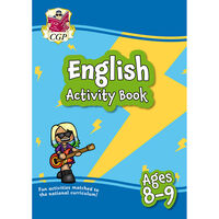 English Activity Book: Ages 8-9