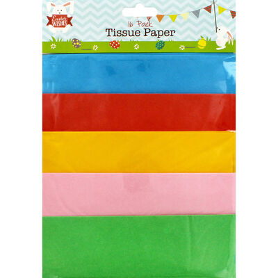 Easter Tissue Paper: 16 Sheets image number 1