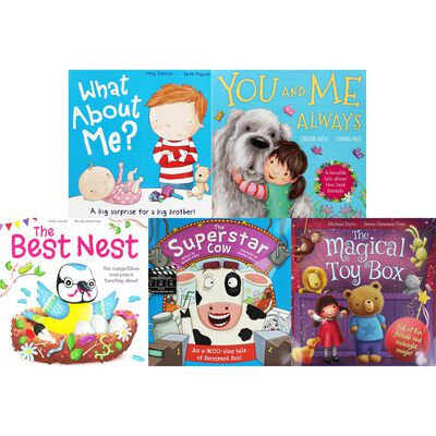Funny Animal Adventures: 10 Kids Picture Books Bundle image number 3