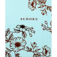 Floral Foil Sudoku Book
