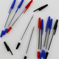 12 Ball Point Pens - Assorted