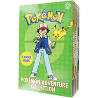 Pokemon Adventure Collection: 8 Book Box Set