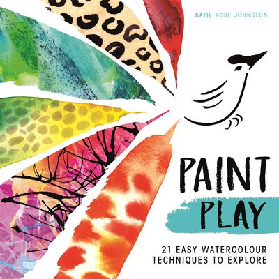 Paint Play: 21 Easy Watercolour Techniques image number 1