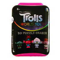 Trolls 2 Gravity Feed Puzz Pal Character Eraser