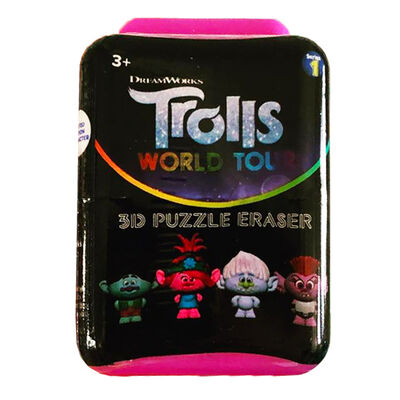 Trolls 2 Gravity Feed Puzz Pal Character Eraser image number 1