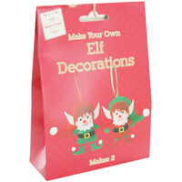 Make Your Own Elf Decorations
