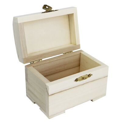 Mini Wooden Chest image number 2