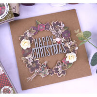 Winter Rose Premium Paper Pad - 12x12 Inch