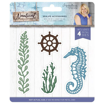 Crafters Companion Nautical Collection Metal Die - Sealife Accessories image number 1