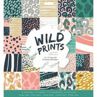 Wild Prints Paper Pad 12x12 Inch