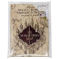 Harry Potter Marauders Map A5 Notebook