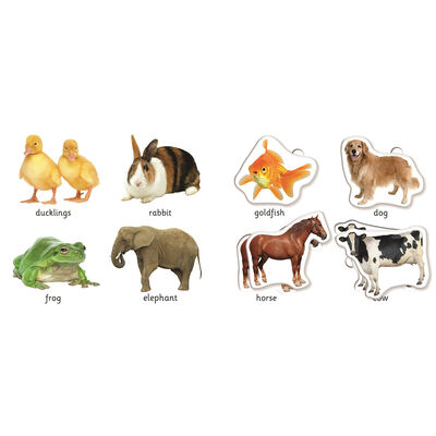 First Learning Animals Play Set image number 2