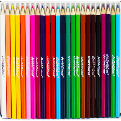 Camo Colouring Pencils - Tin of 24 image number 3