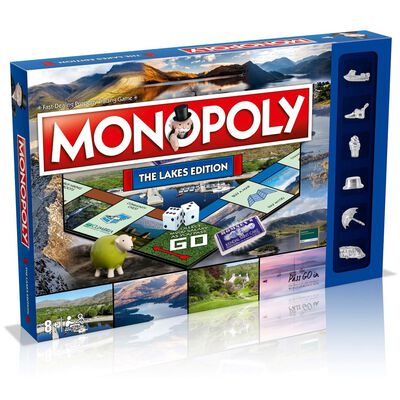 The Lakes Monopoly Board Game image number 1