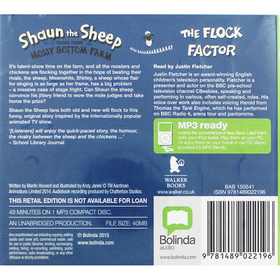 Shaun the Sheep Tales from the Mossy Bottom Farm: MP3 CD image number 2