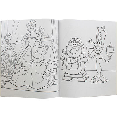 Disney Princess Beauty and the Beast Colouring Book image number 2
