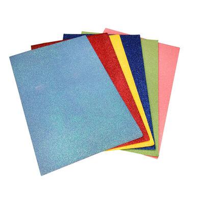 A4 Glitter EVA Sheets - 6 Pack image number 2