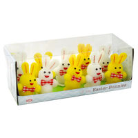 Fuzzy Easter Bunnies - 10 Pack