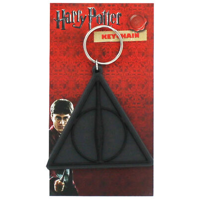 Harry Potter - Deathly Hallows Keyring image number 1