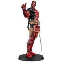 Marvel Fact Files: Deadpool Special Magazine & Statue