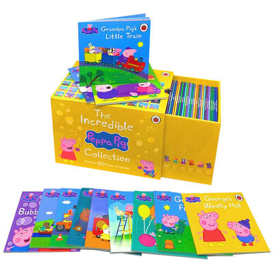 The Incredible Peppa Pig: 50 Book Collection image number 3