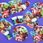 Marvel Avengers Small Paper Plates - 8 Pack image number 2